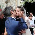 Mariage de Thomas Langmann et Celine Bosquet à Porto-Vecchio le 22 juin 2013.