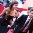 Thomas Langmann et Céline Bosquet à Cannes le 17 mai 2013.
