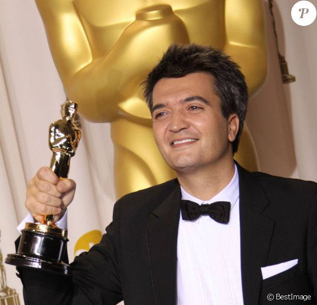 Thomas Langmann lors des Oscars 2012, au sommet de sa gloire.