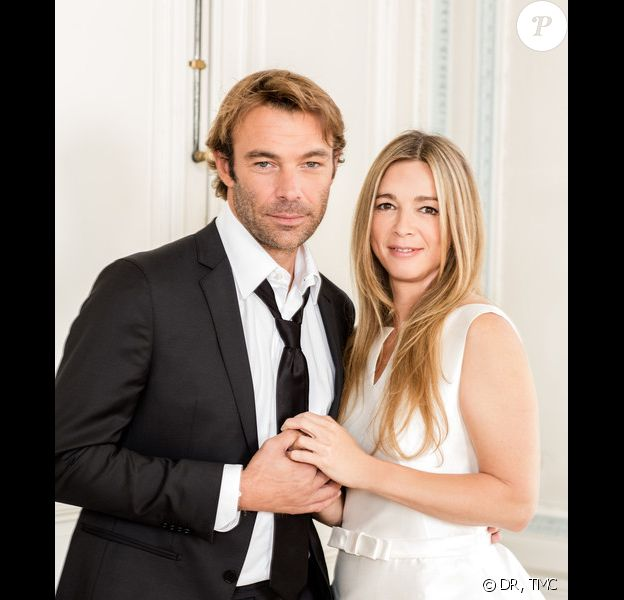 Hélène Rollès et Patrick Puydebat dans les Mystères de l'amour sur TMC - Hélène et Nicolas vont-il se marier ?