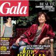 Jane Birkin en couverture du magazine Gala, daté du 9 octobre 2013.