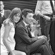 Première rencontre de Serge Gainsbourg et Jane Birkin sur le tournage de Slogan (1968, Paris)