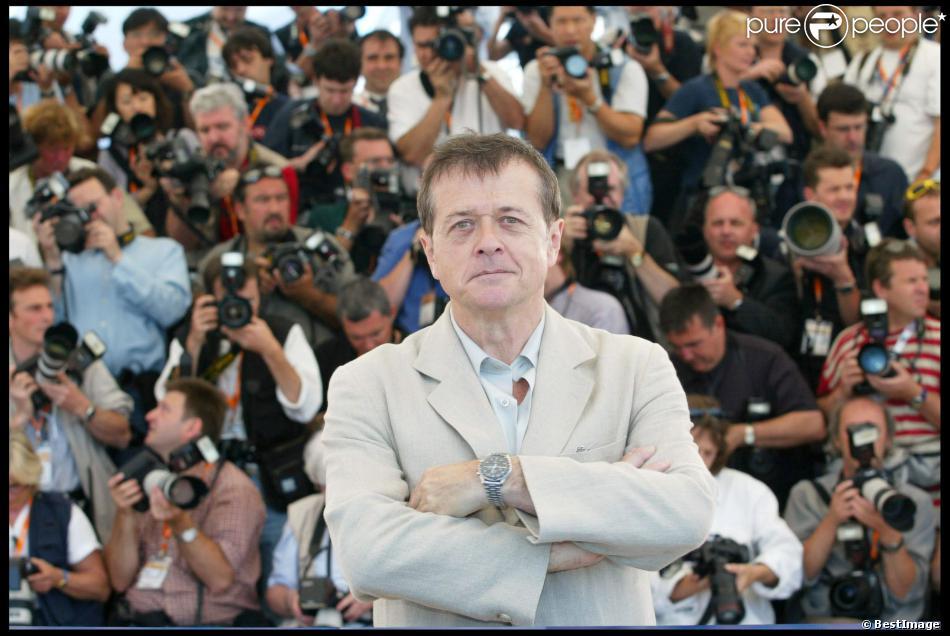 Patrice Chéreau lors du Festival de Cannes 2003