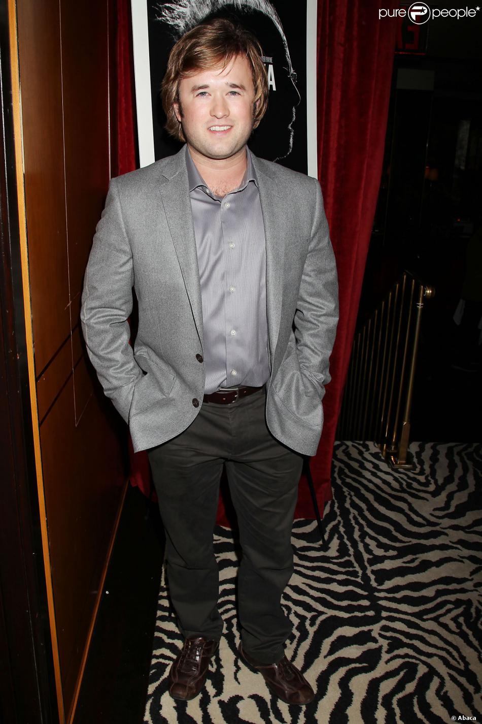 Haley Joel Osment, âgé de 25 ans, lors de l'after party du film Nebraska le 10 octobre 2013 à New York