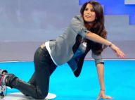 Karine Ferri : A quatre pattes ou sexy dans le noir, elle se donne avec Steevy