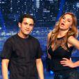 Ariane Brodier et Malik Bentalha très en forme, dans VTEP le 11 octobre 2013 sur TF1.