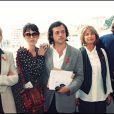 Virna Lisi, Isabelle Adjani, Patrice Chéreau, Danièle Thompson et Vincent Perez au Festival de Cannes lors de la présentation du film La Reine Margot en 1994