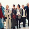 L'équipe du film La Reine Margot au Festival de Cannes le 5 mai 1994