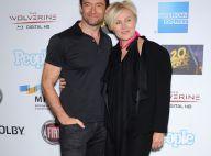 Hugh Jackman : Rayonnant, il fête ses 45 ans avec sa femme... et générosité