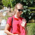 Teresa Palmer enceinte chez le docteur à Los Angeles, le 20 août 2013.