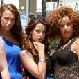 """""""Daniela Martins et le casting des Anges 2 à Miami le 20 avril 2011."""""""