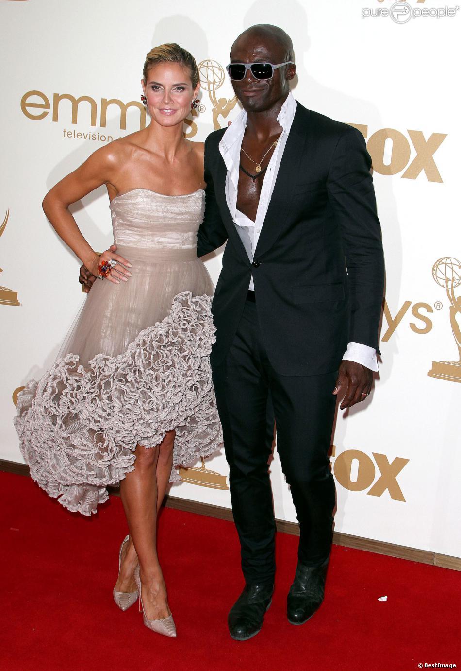 Heidi Klum et Seal en septembre 2011, quelques mois avant leur séparation