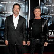 Sylvester Stallone : Un roc avec sa femme et son complice Schwarzy