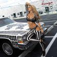 Tetyana Veryovkina ultrasexy pour la marque de lingerie Kinga.