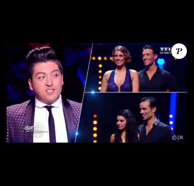 Damien Sargue est éliminé face à Laury Thilleman dans Danse avec les stars 4 sur TF1 le samedi 19 octobre 2013