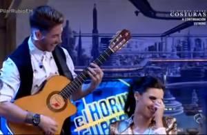 Sergio Ramos : En chanteur flamenco, la star du Real émeut sa belle aux larmes
