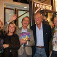 Les 50 ans de la boutique Renoma, à Paris, le 22 octobre 2013