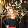 Cindy Lopes lors des 50 ans de la boutique Renoma, à Paris, le 22 octobre 2013