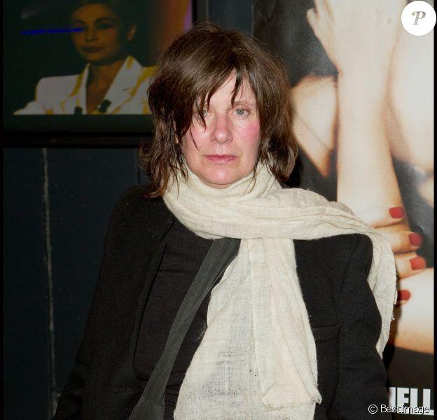 Catherine Breillat à Paris le 19 mars 2012 lors de l'avant-première du film Bye Bye Blondie