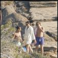 Nicolas Sarkozy, Carla Bruni et son fils Pierre