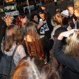 Le groupe One Direction de retour à Londres, après la fin de leur tournée mondiale, le 4 novembre 2013.