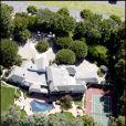 La maison de Madonna à Beverly Hills prise en photo le 22 septembre 2006. La star vient de s'en séparer pour 20 millions de dollars.