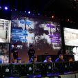 Ambiance au lancement de  Call of Duty : Ghosts  (disponible le 5 novembre 2013) le 4 novembre 2013 au Yoyo, au Palais de Tokyo, à Paris.