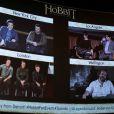 Ambiance lors de l'événement mondial Le Hobbit : La Désolation de Smaug à New York le 4 novembre 2013.