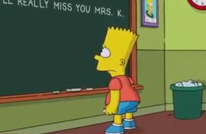 Les Simpson: L'hommage de Bart après la mort de Marcia Wallace, voix de la série
