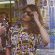 M.I.A, créatrice et égérie de sa propre collection capsule pour Versus Versace, disponible depuis le 16 octobre.