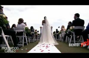 Hollywood Girls 3 : Premières images du mariage de Nabilla, avant le drame...