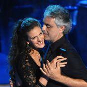 Andrea Bocelli : Avec sa fiancée Veronica pour une danse sensuelle à la télé