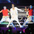 Justin Bieber en concert à Rio de Janeiro au Bresil le 2 novembre 2013.02/11/2013 -