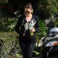 Khloe Kardashian se promène dans les rues de Woodland Hills, le 2 novembre 2013.
