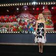 Gwyneth Paltrow inaugureles vitrines de Noël du Printemps Haussmann décorées cette année en partenariat avec la maison Prada. Paris, le 07 novembre 2013.