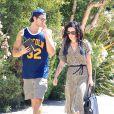 Rumer Willis et son petit ami Jayson Blair dans les rues d'Hollywood, le 13 août 2012.