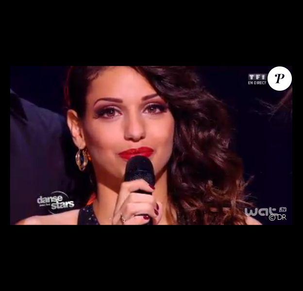 Tal lors de son élimination de Danse avec les stars 4, le samedi 2 novembre 2013.
