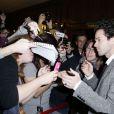 """Romain Duris lors de l'avant-première du film """"Casse-tête chinois"""" au Grand Rex à Paris, le 10 novembre 2013"""