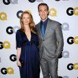 Kimberly Brook enceinte, James Van Der Beek lors de la soirée GQ Men Of The Year 2013 à Los Angeles, le 12 novembre 2013.