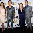 Matthew McConaughey et James Van Der Beek amoureux de leur femmes à la soirée GQ  Men Of The Year 2013