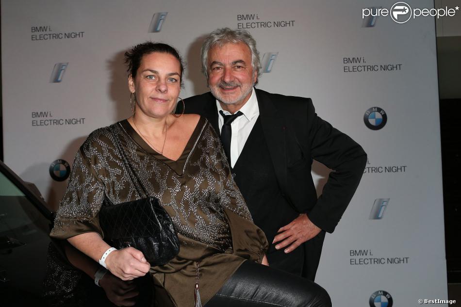 exclusif franck provost et sa fille olivia lors de l 39 electro night pour le lancement de la. Black Bedroom Furniture Sets. Home Design Ideas