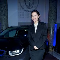 Virginie Ledoyen Au Volant De La BMW I3