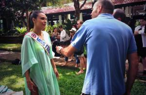 Miss France 2014 : Marine Lorphelin et les 33 Miss, superbes au Sri Lanka
