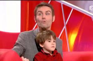 Tout le monde veut prendre sa place : Julien, ému avec son fils, bat un record !