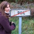Doria Tillier fait la météo à Poil dans Le Grand Journal le mercredi 20 novembre 2013 sur Canal +