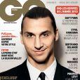 Zlatan Ibrahimovic, homme de l'année en couverture du magazine GQ édition française (décembre 2013)