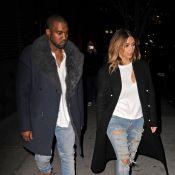 Kim Kardashian et Kanye West : Couple assorti, les icônes mode s'affirment