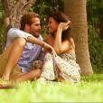 Adriano et Livia dans Bachelor sur NT1