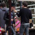 Exclusif - Justin Theroux et Jason Bateman lors de l'anniversaire de Susan Downey à San Francisco, le 10 novembre 2013.