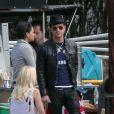 Exclusif - Justin Theroux lors de l'anniversaire de Susan Downey à San Francisco, le 10 novembre 2013.